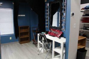 Dressing room & staging